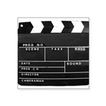 Movie Film video clapperboard design Sticker
