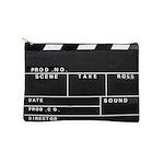 Movie Film video clapperboard design Makeup Bag
