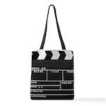 Movie Film video clapperboard design Polyester Tot
