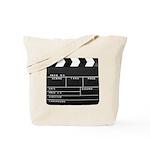 Movie Film video clapperboard design Tote Bag