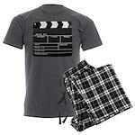 Movie Film video clapperboard design Men's Charcoa