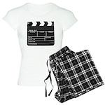 Movie Film video clapperboard design Pajamas