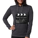 Movie Film video clapperboard design Long Sleeve T