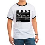 Movie Film video clapperboard design T-Shirt