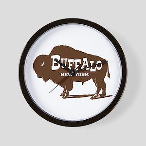 Buffalo New York Wall Clock