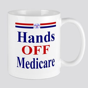 Hands OFF Medicare Mug