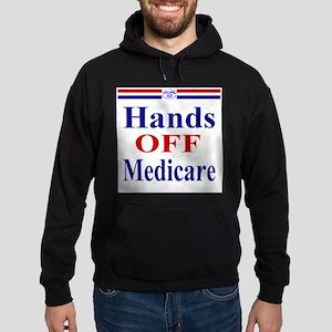 Hands OFF Medicare Hoodie (dark)