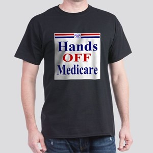 Hands OFF Medicare Dark T-Shirt