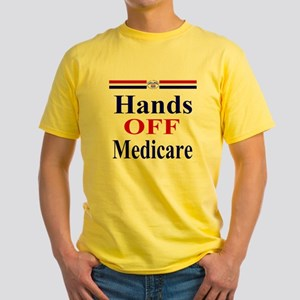 Hands OFF Medicare Yellow T-Shirt
