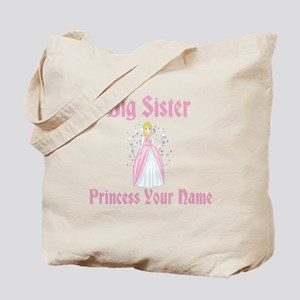 Big Sister Princess Personali Tote Bag