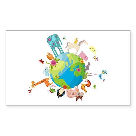 Animal Planet Sticker (Rectangle)