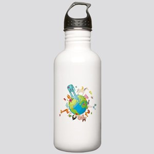 Animal Planet Stainless Water Bottle 1.0L