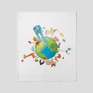 Animal Planet Throw Blanket