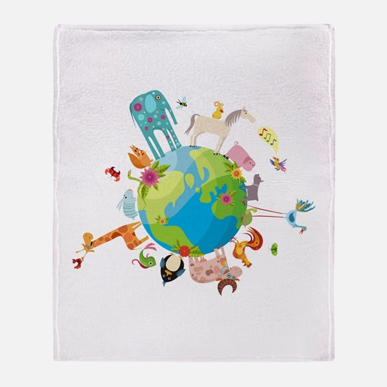 Animal Planet Throw Blanket