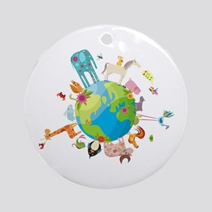 Animal Planet Ornament (Round)