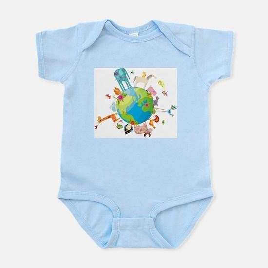 Animal Planet Infant Bodysuit