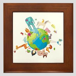 Animal Planet Framed Tile