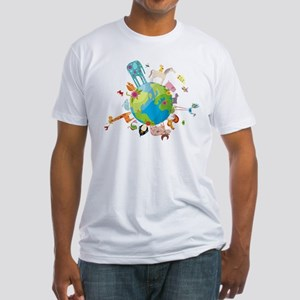 Animal Planet Fitted T-Shirt
