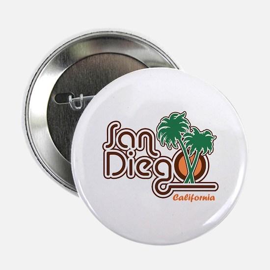 """San Diego CA 2.25"""" Button"""