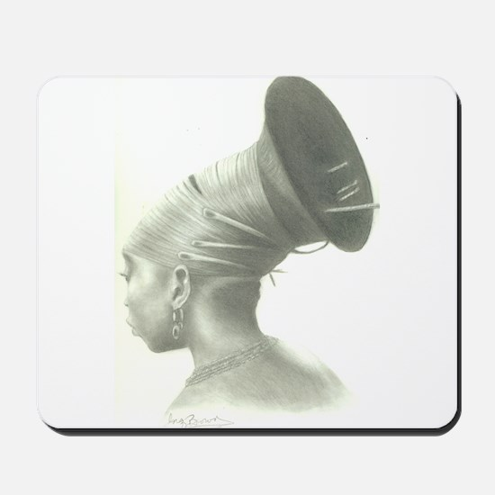 Our Hair, Our Roots Mousepad