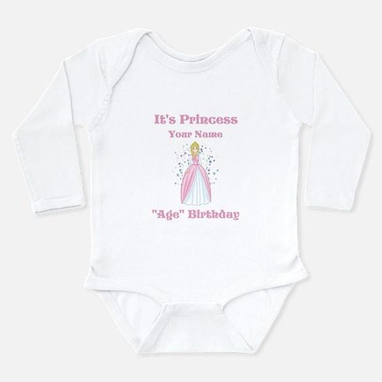 Princess Personalized Birthda Long Sleeve Infant B