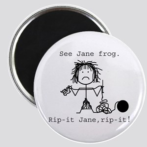 SEE JANE FROG: Magnet