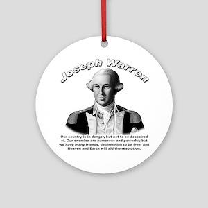 Joseph Warren 01 Ornament (Round)