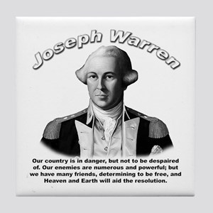 Joseph Warren 01 Tile Coaster