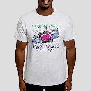 Mental Health Month BASTS Light T-Shirt