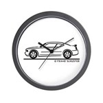 New Dodge Charger Wall Clock