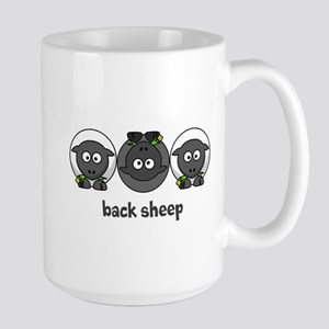 Back Sheep Large Mug