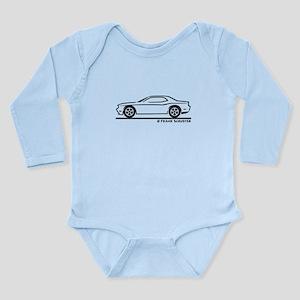 New Dodge Challenger Long Sleeve Infant Bodysuit