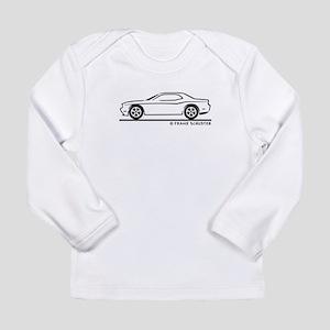 New Dodge Challenger Long Sleeve Infant T-Shirt