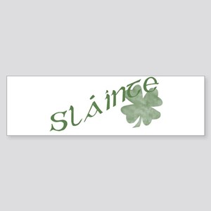 Slainte Sticker (Bumper)