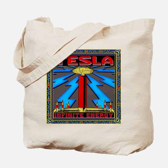 TESLA COIL Tote Bag