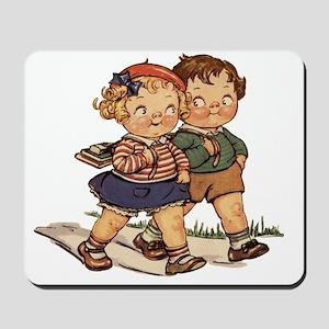 Kids Walking Mousepad