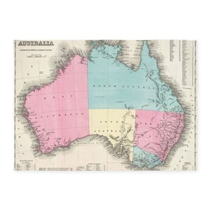 Australia map area rugs cafepress gumiabroncs Gallery