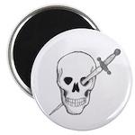 Skull & Dagger Magnet