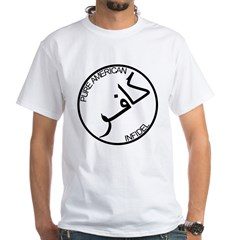 Pure Infidel (Black Logo) White T-Shirt