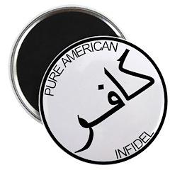 Pure Infidel (Black Logo) 2.25