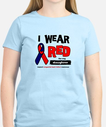 I wear red for my daughter Women's Light T-Shirt