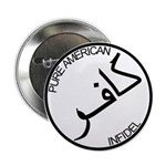 Pure Infidel (Black Logo) Button