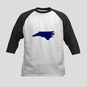 North Carolina - Blue Kids Baseball Jersey