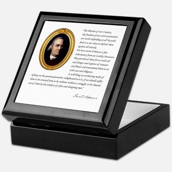Samuel Adams Keepsake Box