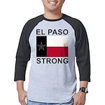 El Paso Strong Flag Mens Baseball Tee