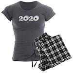 2020 Toilet Paper Design Women's Charcoal Pajamas