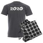 2020 Toilet Paper Design Men's Charcoal Pajamas