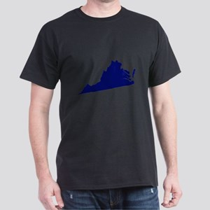 Virginia - Blue Dark T-Shirt