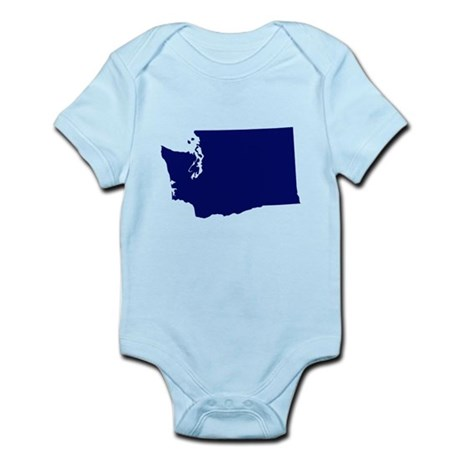 Washington - Blue Infant Bodysuit