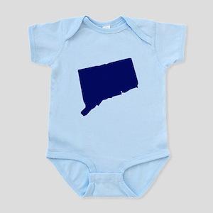 Connecticut - Blue Infant Bodysuit